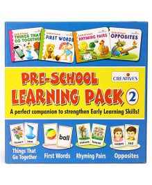 Creative Pre-School Learning Pack 2 - Multi Color