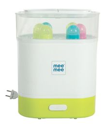 Mee Mee Advanced 3 in 1 Steam Sterilizer and Warmer (Up to 6 Bottles & Accessories
