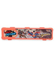 DC Comics Superman Print Pencil Box - (Color May Vary)