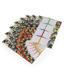 Ben 10 Printed Book Labels - 8 Sheets