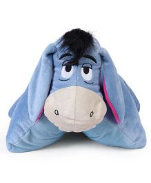 Disney Eeyore Folding Plush Pillow Blue - 36 cm