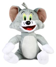 Tom Cat Plush Soft Toy Grey - 25 cm
