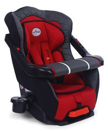 1st Step Convertible Car Seat - Red Black