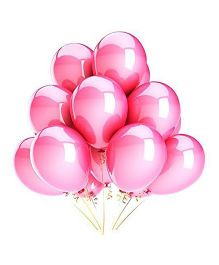 SmartCraft Metallic Balloons Pink- Pack of  100