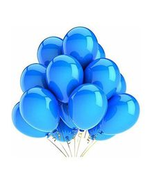 SmartCraft Metallic Balloons Blue- Pack of  100