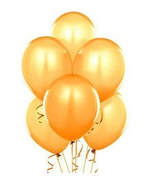 Metallic Balloons Gold- Pack of  100