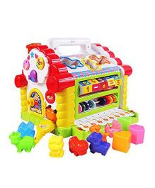 Smartcraft Funny Cottage Activity Toy - Multicolour