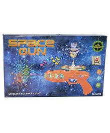 Vibgyor Vibes Musical LED Toy Gun (Color May Vary)