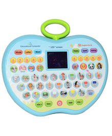 VibgyorVibes Apple Shaped Educational Tablet (Color May Vary)