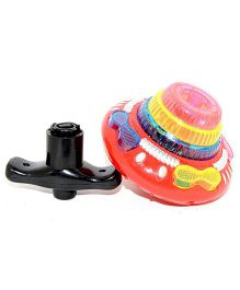 Vibgyor Vibes Light & Sound Spinning Top - (Colour may Vary)