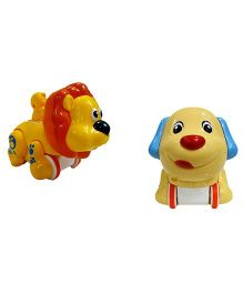 VibgyorVibes Press & Go Animal Friction Toys (Colour or Design May Vary )