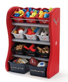 Step2 Corvette Room Organizer - Multicolor