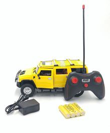 Flyers Bay Battery Operated Remote Controlled Hummer Car - Yellow