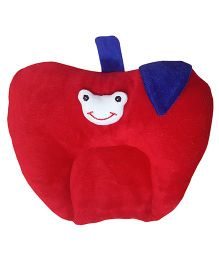 My NewBorn Mustard Seed (Rai) Baby Pillow - Red