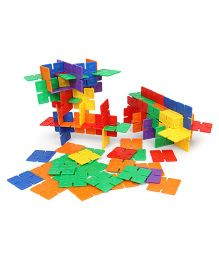 Imagician Playthings Learn Connect & Build Square On Square Set