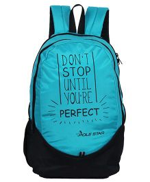 Polestar School Bag Perfect Print Light Blue - 18 Inches
