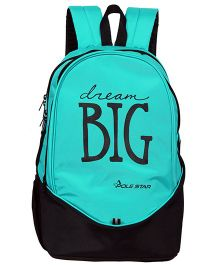 Polestar School Bag Dream Big Print Turquoise -  18.8 Inches