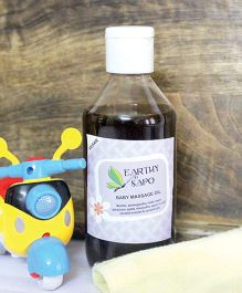 Earthy Sapo Baby Massage Oil - 200 ml