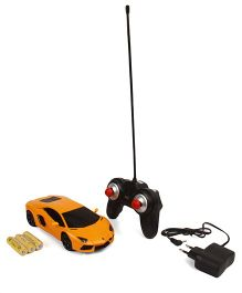 TurboS Remote Controlled Aventado Coupe Toy Licensed Car - Orange