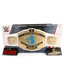 WWE Raw United States Championship Belt - Golden