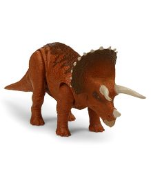 Jurassic World Triceratops Figure Toy Brown - Length 32 cm