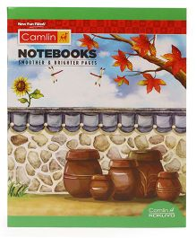 Camlin Small Unruled Notebook - 164 Pages