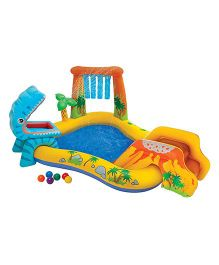 Intex Dinosaur Play Centre Pool - Blue
