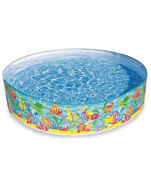 Intex Inflatable Snapset Pool - Multicolor