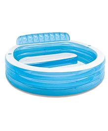 Intex Swim Centre Family Lounge Pool - Blue