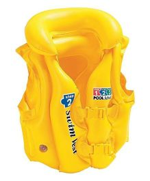 Intex Deluxe Swim Vest  - Yellow