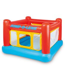 Intex Playhouse Jump-O-Lene Inflatable Bouncer - Yellow & Red