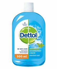 Dettol Disinfectant Liquid Menthol Cool - 500 ml