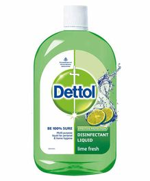 Dettol Disinfectant Liquid Lime Fresh - 200 ml