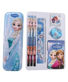 Disney Frozen Stationery Set Blue - Pack of 8 Pieces
