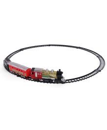 Dr Toy Electic Western Express Train Set - Black & Red