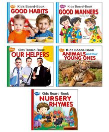 Sawan Kids Board Book Set of 5 - English