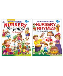 Sawan My First Nursery Rhymes Books Set of 2 Books - English