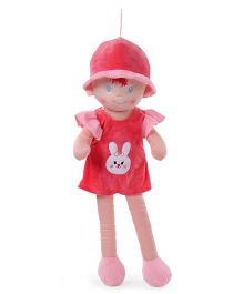 Starwalk Candy Doll With Cap Peach Red - Height 75 cm