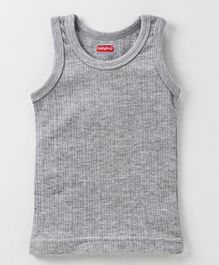 6e3781151827 Babyhug Sleeveless Thermal Vest - Grey