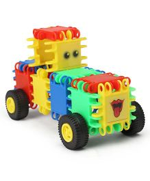 Lil Star Clix Car Building Blocks Toy Multi Color - 30 pieces