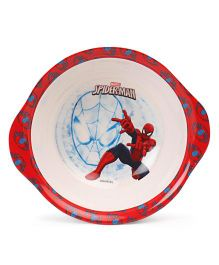 Marvel Bowl With Handle Spider Man Print - Red White