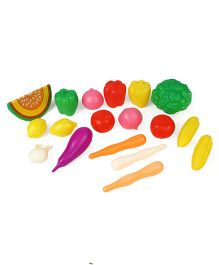 Circle E Vegetables Set Multi Color - 18 Pieces (Assorted)