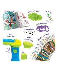 Quill On World of Paper Quilling Kit - Multicolour