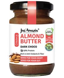 Jus' Amazin Almond Butter Dark Choco - 125 gm