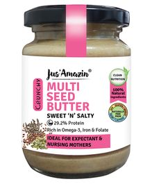 Jus ' Amazin Seed Butter Mixed Seeds - 125 gms