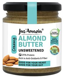 Jus ' Amazin Almond Butter All Naturals - 200 gms