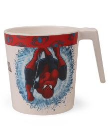 Marvel Coffee Mug Spider Man Print Off White - 320 ml  (Color And Print May Vary)