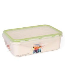 Dora Printed Lunch Box - Off White