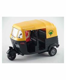 Centy Toys CNG Auto Rickshaw CT 056 - Yellow and Black