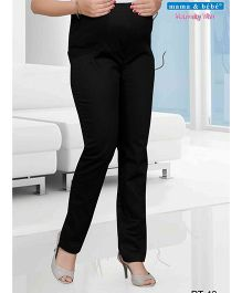 Mama & Bebe Full Length Pant - Black